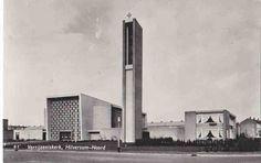 Verrijzeniskerk in Hilversum, 1960s, Architect: H.M. Koldewey.