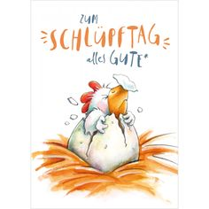 All the best for hatching - Geburtstag