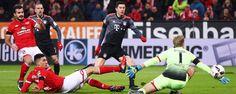 Robert Lewandowski rallies Bayern Munich to victory away to Mainz