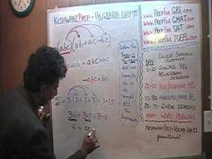Algebra Help Day 55 - Online Prep Tutor - GRE, GMAT, TEAS, SAT, ACT, TOE...