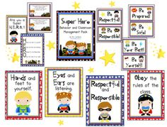 Primary Possibilities: Super hero theme for behavior management