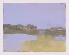 Marsh at Dusk by HargreavesArt on Etsy, $800.00