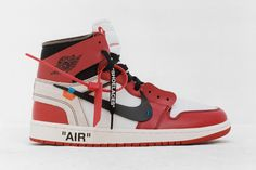 """Your first look at Off-White designer Virgil Abloh's """"reconstruction"""" of ten of the Swoosh brand's most iconic sneakers, from the Air Jordan 1 to the Air Max Nike Air Force, Nike Air Max, Air Max 97, Best Sneakers, Nike Sneakers, Zapatillas Nike Cortez, Converse Chuck Taylor, Zapatos Nike Jordan, Air Jordans"""