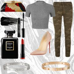 Untitled #37 by sudachikotarou on Polyvore featuring polyvore, fashion, style, Miss Selfridge, J Brand, Christian Louboutin, Uroco, Cartier, Urban Decay, Lord & Berry, NYX, Chanel, cool and japan