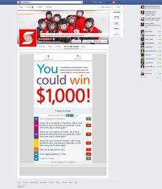 Scotiabank Facebook campaign Conte, Campaign, Marketing, Facebook, Day