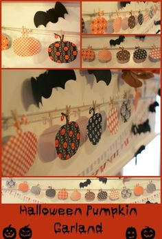 How to Make a Spooky Halloween Mantel and other Halloween Crafts