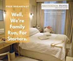 Always thought our excellent location was the best thing about the Amsterdam Hotel? Just wait until you see our incredible room rates! Visit today and make us your first choice for luxury #accommodation in Earls Court, #London.