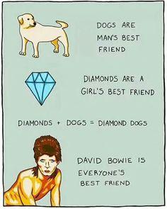 Bowie is my best friend