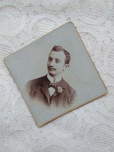 Antique Austrian small CDV/visit card, young man, Fred Grega Wien cca. 1900s' American Civil War, Portrait Photo, Young Man, Vintage Postcards, Victorian, Antiques, People, Ebay, America Civil War