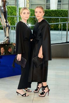 Mary-Kate and Ashley Olsen…..They are consistent with their dark and dreary style.