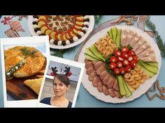 Platouri cu aperitive pentru sarbatori (reci si calde) - YouTube Waffles, Cheese, Dairy, Breakfast, Youtube, Food, Morning Coffee, Essen, Waffle