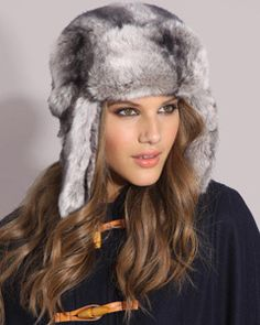 7b199478214 faux fur hat  millinery  judithm  hats Russian Fashion