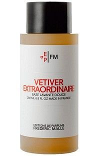 Editions de Parfums Frederic Malle - Vetiver Extraordinaire Shower Gel at Aedes.com