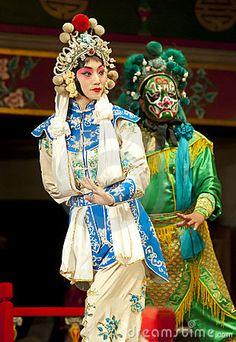 Actors of the Beijing Opera Troupe