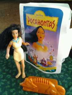 Vintage Pocahontas McDonald's Happy Meal Toy, Disney, childs toy, girls toy, girls doll by streetcrossing on Etsy Mcdonalds Happy Meal, Mcdonalds Fast Food, Disney Pocahontas, Walt Disney, Toys For Girls, Doll Toys, My Childhood, The Ordinary, Girl Dolls