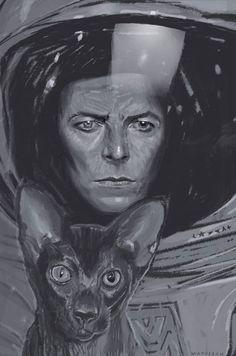 Dagmara David Bowie Space Odyssey