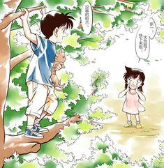 Conan Movie, Detektif Conan, Ran And Shinichi, Detective Conan Shinichi, Detective Conan Wallpapers, Sailor Moon Art, Cute Animal Photos, Magic Kaito, Anime Love Couple