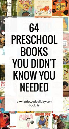 The best picture books for preschoolers that fly under the radar. These are essential preschool books for your classroom or home library