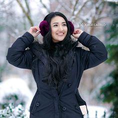 Snow dream ❄️ Photo by: @jorgevscastillo In frame: @yessferegrino Location: Toronto