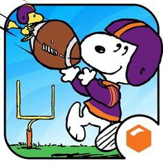 Snoopy and Woodstock Playing Football Peanuts Cartoon, Peanuts Snoopy, Schulz Peanuts, Snoopy Love, Snoopy And Woodstock, Best Cartoon Series, Walt Disney, Blue Friday, Lucy Van Pelt