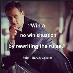 Win a no win situation by rewriting the rules #justwin #lawyerup