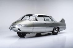 Automotive history runneth over with evolutionary dead ends; ideas from smart people that never went far. A prime example lies with this car, the 1960 Pininfarina X. A fully experimental model built by the Italian coachbuilder, the X was meant to explore how cars might radically change in the Jet Age.