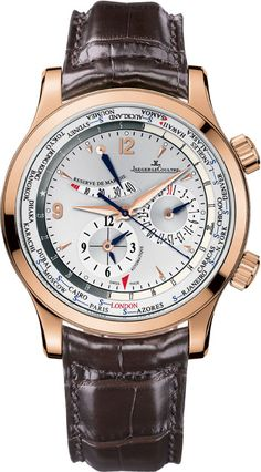 #Jaeger LeCoultre Master World Geographic priced at USD 15,900.