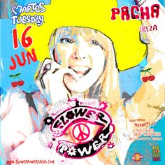 Flower Power every Tuesday at Pacha Ibiza
