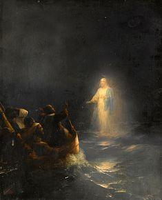 Jesus Walks On Water by Ivan Konstantinovich Aivazovsky