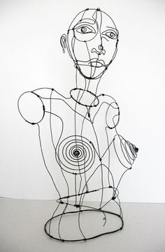 wire portrait lesson - Google Search                                                                                                                                                                                 More                                                                                                                                                                                 More