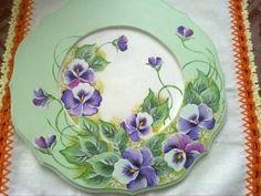 prato decorativo de parede(pintura decorativa)