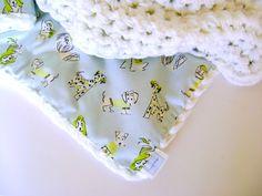 Crochet Baby Blanket  ON SALE 65 reg 75  Fifi by sheilalikestoknit,