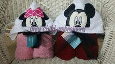 Mouse design towels https://www.facebook.com/onlychildembroidery/
