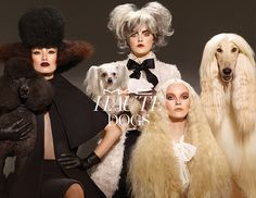 MAC Haute Dogs Collection - the dogs are cute, and the hair is interesting, but this doesn't inspire me to want to buy any makeup.