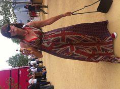 London Pride - 2012 Olympics #Olympic Village #London Olympic Village, London Pride, Olympics, Dresses, Fashion, Vestidos, Moda, Fasion, Dress