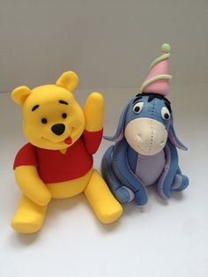 Winnie the Pooh cake toppers