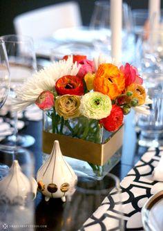 Hermoso centro de mesa........