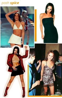 What Spice Girl Would You Be Today - Fashion Sporty Spice Costume, Ginger Spice Costume, Baby Spice Costume, Emma Bunton, Spice Girls Outfits, Outfits 90s, Girl Outfits, Spice Girls Fancy Dress, Halloween Costumes For Girls