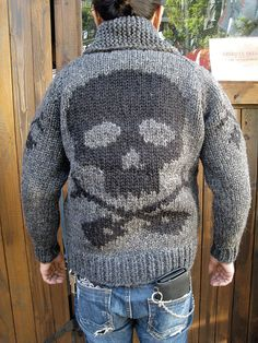american-dream   Rakuten Global Market: KANATA / Kanata SKULL Cowichan sweater charcoal grey