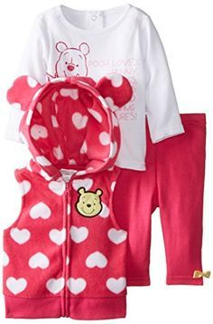 Disney Velour All In One Pink With Hearts And Bambi 3-6 Mths Girls