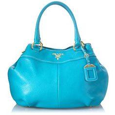 Prada Vitello Daino Expandable Shoulder Handbag -- Yep just got this