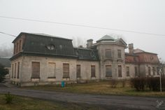 Abandoned palace - Bratoszewice (near Lodz) - Poland. This amazing palace was built in Bratoszewice between 1921-1922. After World War II with the new socialist reality, the residence was nationalized. It has been abandoned since a fire in 1985.