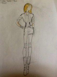My design for Bobbi Morse from Agents Of SHIELD !! #Mockingbird