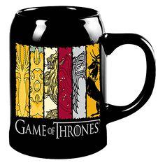Game of Thrones - House Sigils Ceramic Stein - ZiNG Pop Culture