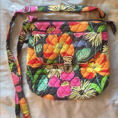Vera Bradley Jazzy Bloom Crossbody Bag Great bag Vera Bradley Bags Crossbody Bags
