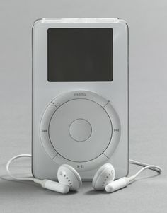 The First iPod. By Jonathan Ive and Apple Industrial Design Group, 2001