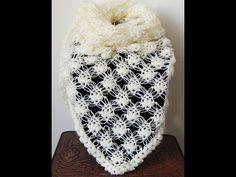 Bello punto en Crochet que combina el Punto Esponjoso con el Salomon. Ideal para un hermoso Chal. Parte 1 de 2