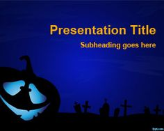 Creepy PowerPoint template is a free creepy PPT template slide design for Halloween PowerPoint presentations that you can use next Halloween season
