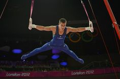Jacob Dalton of the U. competes in the rings event during the men's gymnastics qualification at the London 2012 Olympic Games Boys Gymnastics, Artistic Gymnastics, Olympic Gymnastics, Olympic Sports, Nbc Olympics, Summer Olympics, Martial, London Olympic Games, Male Gymnast