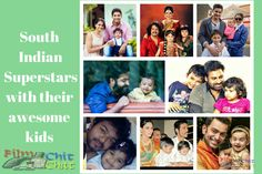List of few top South Indian Superstars kids who are going to be the future superstars. South Indian Celebrity kids from Telugu,Tamil, kannada